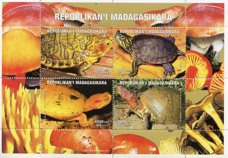 Madagascar MNH S/S Turtles 1999