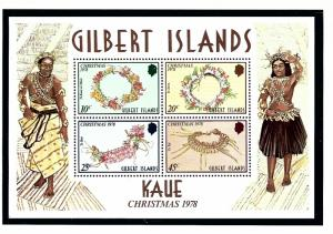 Gilbert Is 320a MNH 1978 Christmas S/S