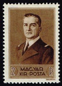 HUNGARY STAMP 1938 Admiral Miklos Horthy MH/OG 2F