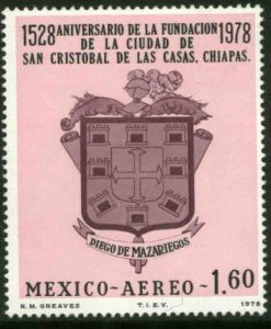 MEXICO C558 400th Anniv S. Cristobal de las Casas MINT, NH. VF.