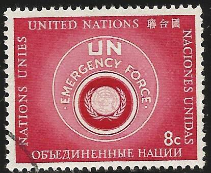United Nations, New York 1957 Scott# 52 or 54 Used
