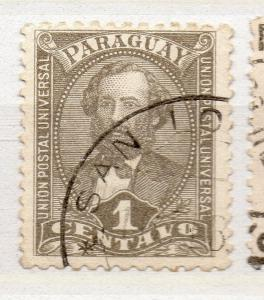 Paraguay 1892-96 Early Issue Fine Used 1c. 279941