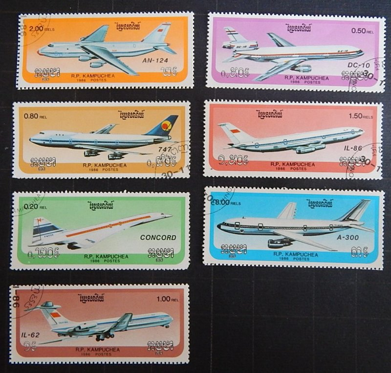 People's Republic of Kampuchea, Airplane, (2279-Т)