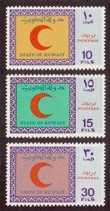 Kuwait Scott #506-508 MH