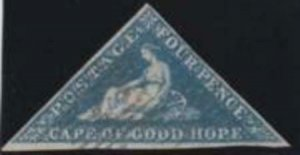 Cape of Good Hope 1863-1864 SC 13 Used SCV $135.00