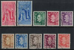 Norway #343-52  CV $3.30