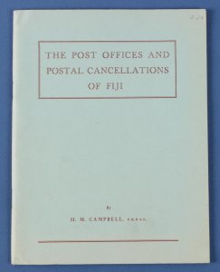 FIJI : The POs & Cancellations, Campbell..