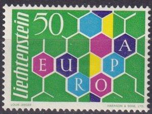 Liechtenstein  #356  F-VF Unused   CV $30.00  (Z5184)