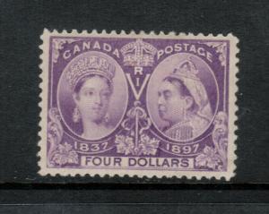Canada #64 Extra Fine Mint Full Original Gum Hinged - Tiny Gum Thins