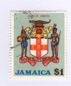 Jamaica #317 Used CAT VALUE $5.50