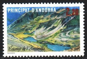 Andorra. 1986. 372 from the series. Tourism, Lake Angonella. MNH.