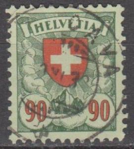 Switzerland #200a F-VF Used CV $3.25 (ST1367)
