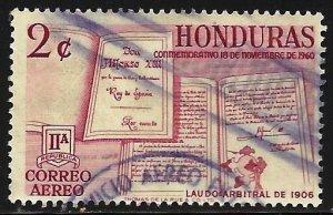 Honduras Air Mail 1961 Scott# C310 Used