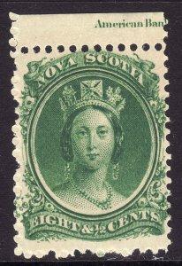 1860-63 Canada Nova Scotia Queen Victoria QV 8½¢ MNH Sc# 11 CV $20.00 Stk #1