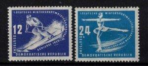 East Germany (DDR) - SGE5-E6 **, 1st winter sport meeting - CV £20.25 ($25.90)