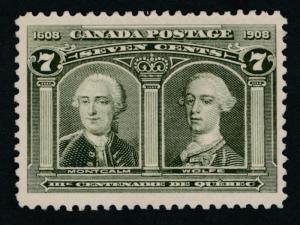 Canada 100 Mint LH F-VF