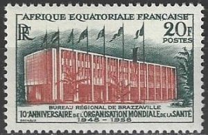French Equatorial Africa  199   MNH  UN WHO