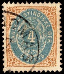 Danish West Indies Scott 7 Used.