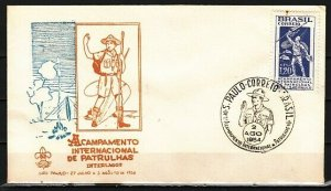 Brazil, Scott cat. 802. Scouting issue. First day cover. *