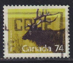 Canada 1177 Wapiti 1988