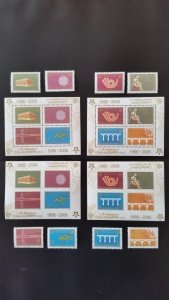 50th anniversary of EUROPA stamps - Serbia and Montenegro complete ** MNH