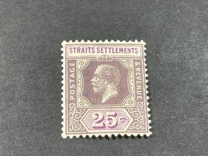 STRAITS SETTLEMENTS # 194--MINT/HINGED----SINGLE----1921-32
