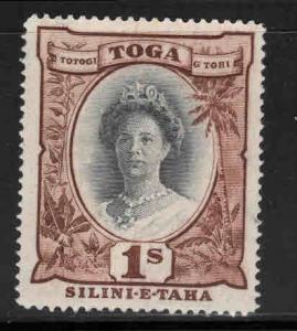TONGA  Scott 79  Mint No Gum, Queen Salote stamp