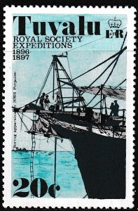 Tuvalu,  Sc 55,  MNH,  1977,  Royal Society Expeditions,  (AA02409)