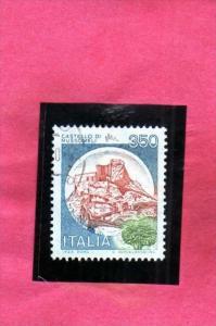 ITALIA REPUBBLICA ITALY REPUBLIC 1980 CASTELLI D´ITALIA CASTLES CASTELLO MUS...