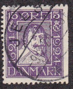Denmark # 170, Used