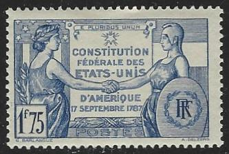 France #332 Mint Hinged (H3)
