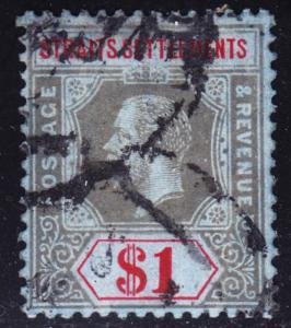 Malaya Straits Settlements Scott 165  F to VF used.