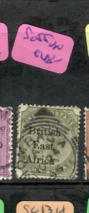 BRITISH EAST AFRICA (P1005B)  QV ON INDIA BEA OVPT  4A  SG 55    VFU