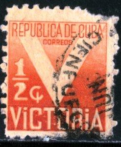 CUBA #RA5, USED - 1942 - CUBA309NS10