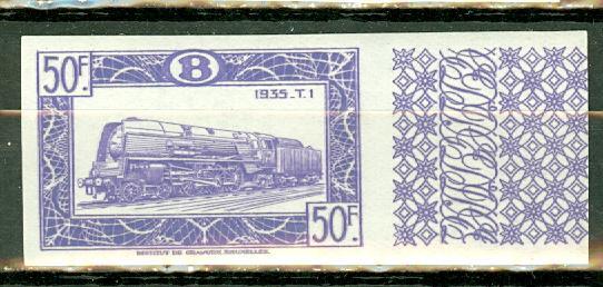 Belgium Q324 MNH imperf CV $2400