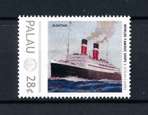 [90498] Palau  Ships Alsatian Ocean Liners Canadian Pacific  MNH