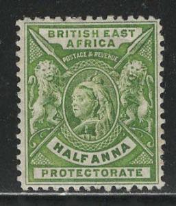British East Africa Scott # 72, mint hr