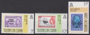 Tristan Da Cunha #260-62 MNH VF  (B7020)