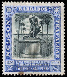 Barbados - Scott 106 - Mint-Hinged - Stain - Dirty Back