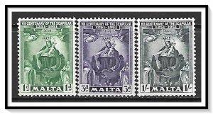 Malta #232-234 Madonna & Child Set MNH