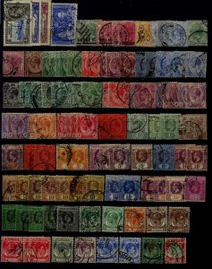 Straits Settlements, 112 used/mint values