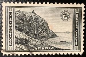 746 Acadia Park, Circulated Single, Vic's Stamp Stash