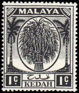 Malaya (Kedah) #61 MNH