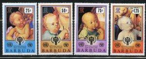 Barbuda MNH 409-12 Year Of The Child 1979