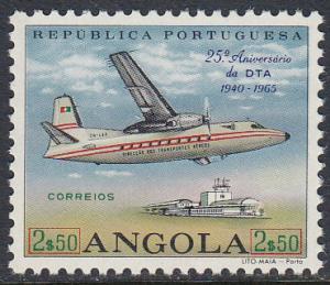 Angola 512 MNH - Plane