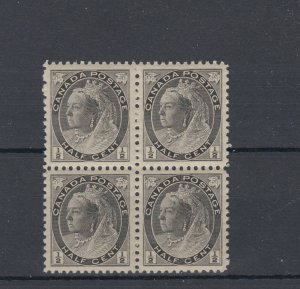 #74 SUPERB*** BLOCK of 4 MNH CAT $240 POST OFFICE FRESH NONE BETTER CANADA
