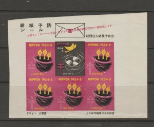 Japan Cinderella seal TB Charity revenue stamp 5-03- mint