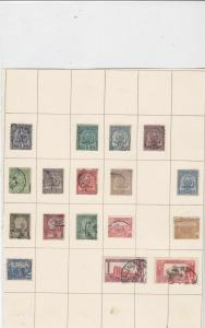 french colonies tunisia used stamps on page ref 10521
