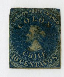 CHILE 12a SCV $21.00 BIN $9.00 PERSON