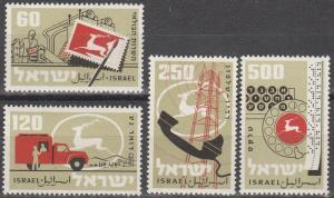 Israel #150-3   MNH  (K795)